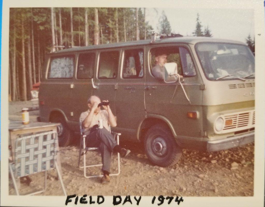 The Vault: Field Day 1974 – Maple Ridge Amateur Radio Club